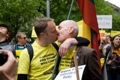 Orgullo del homosexual de Riga Fotografía de archivo