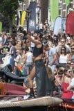 Orgullo gay Amsterdam 2015 Fotografía de archivo libre de regalías