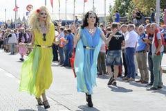 Orgullo gay 2014 de Amberes Imagen de archivo
