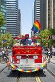 Orgullo gay de San Francisco Imágenes de archivo libres de regalías
