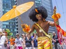 Orgullo gay de San Francisco Foto de archivo libre de regalías