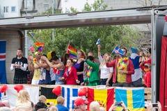 Orgullo gay XIII Foto de archivo libre de regalías