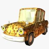 Orgullo salvaje del coche de Toon stock de ilustración