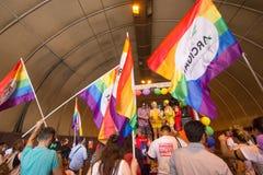 2016 orgullos gay Génova Foto de archivo libre de regalías