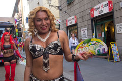 2016 orgullos gay Génova Fotografía de archivo libre de regalías