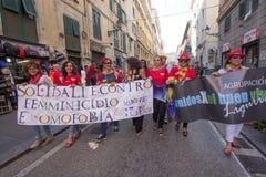 2016 orgullos gay Génova Fotos de archivo libres de regalías