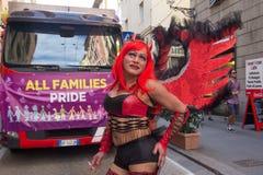 2016 orgullos gay Génova Foto de archivo
