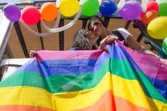 2016 orgullos gay Génova Fotografía de archivo