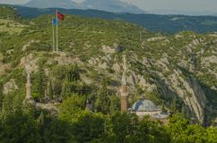 Orhan Gazi Mosque royaltyfria bilder