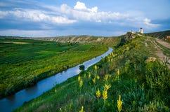 Orhei monastery in Moldova Stock Photo