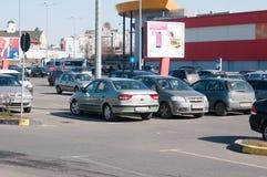 Orhideea-Parkplatz Stockfotos