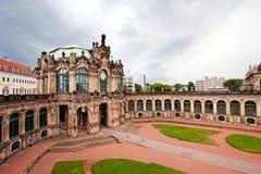 Oriëntatiepunt in Dresden Stock Fotografie