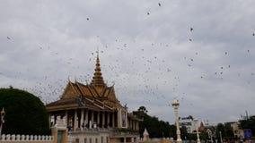 Oriëntatiepunt in Kambodja stock foto's