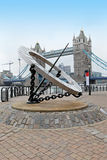 Oriëntatiepunt Londen Royalty-vrije Stock Foto