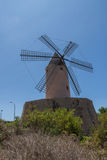 Oriëntatiepunt - monument - Villa - vakantie - Spanje Stock Afbeeldingen