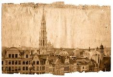 Oriëntatiepunt van Brussel royalty-vrije illustratie