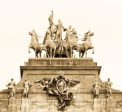 Oriëntatiepunt van Brussel royalty-vrije stock foto