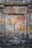 Oriëntatiepunt van de tempelruïnes van Preahvihear het oude Khmer in Kambodja Royalty-vrije Stock Afbeelding