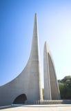 Oriëntatiepunt van het Afrikaans Monument van de Taal royalty-vrije stock foto's