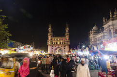 Oriëntatiepunt van Hyderabad Charminar Royalty-vrije Stock Foto