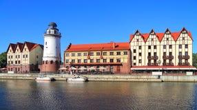 Oriëntatiepunt van Kaliningrad Stock Afbeelding