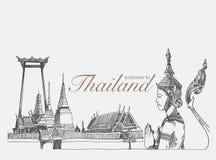 Oriëntatiepunten in Thailand, Royalty-vrije Stock Foto