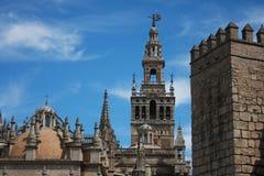 Oriëntatiepunten van Sevilla Royalty-vrije Stock Foto's
