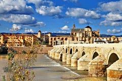 De brug van Cordoba Stock Foto's