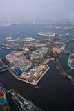 Oriëntatiepunttoren, Yokohama Japan, Minato Mirai Royalty-vrije Stock Foto's