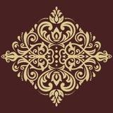Oriënteer Abstract Patroon Royalty-vrije Stock Afbeelding
