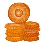 Oriënteer brood vector illustratie