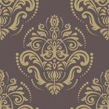 Oriënteer naadloos patroon abstracte achtergrond Royalty-vrije Stock Fotografie