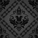 Oriënteer Naadloze Vector Donkere Achtergrond royalty-vrije illustratie