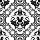Oriënteer Naadloze Vector Zwart-witte Achtergrond royalty-vrije illustratie