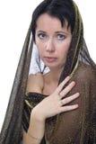 Oriënteer vrouw royalty-vrije stock afbeelding