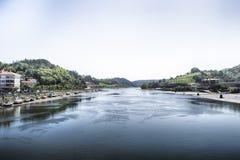 河Oria 免版税库存图片