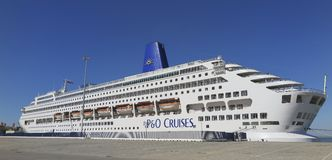 Oriana cruise ship Royalty Free Stock Images