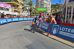 Orica Bikeexchange Cycle Race Team Royalty Free Stock Images