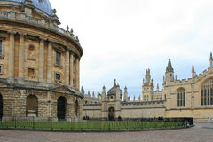 Oriel College, Oxford, England. Royalty Free Stock Photo