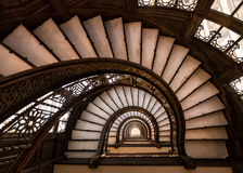 Oriel staircase Stock Photo