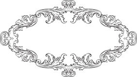 Orient acanthus good frame Stock Image