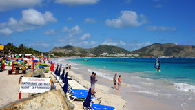 Orient Bay Beach Royalty Free Stock Photography