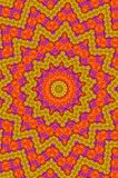 Orient carpet. Floral mandala as an orient carpet Stock Photos