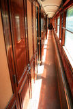 Orient Express carriage. A carriage from the Orient Express now retired in the grounds of a French chateau Royalty Free Stock Photography
