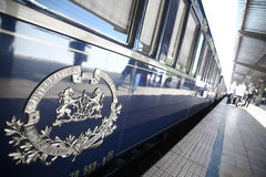 Orient Express train Royalty Free Stock Image