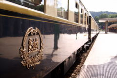 Orient Express train royalty free stock photo