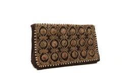 Orient-Frauenhandtasche mit Verzierung Lizenzfreie Stockbilder
