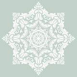 Orient  ornamental round lace Royalty Free Stock Photography