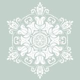 Orient  ornamental round lace Royalty Free Stock Photo