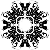 Orient  ornamental round lace Stock Photo